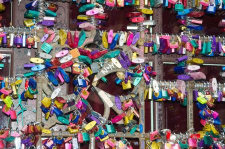 Symbols of love in Verona - Juliet yard photo
