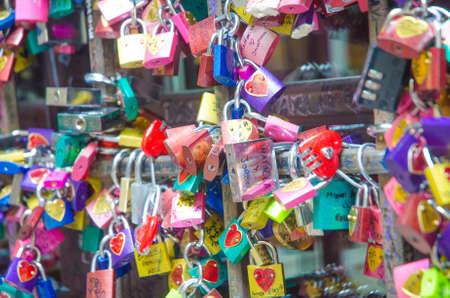 Symbols of love in Verona - Juliet yard