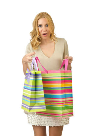 Attractive girl with shopping bags Stock Photo - 14703674