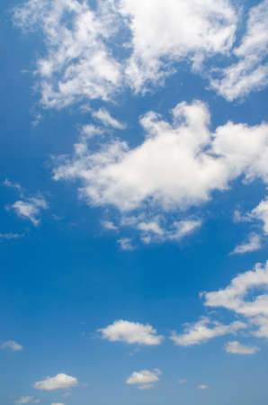 Bright blue sky in summer day Stock Photo - 14881541