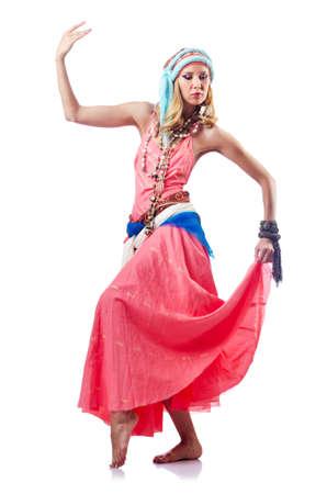 Dancer dancing spanish dances Stock Photo - 15128857