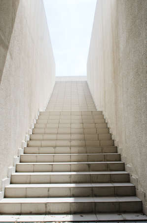 staircase structure: Long stairs with many steps