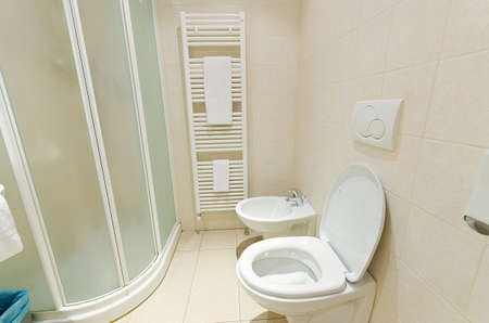 Toilet in the modern bathroom  Stock Photo - 15583078