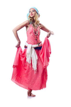 Dancer dancing spanish dances Stock Photo - 15582889