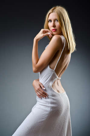 Nice model in studio shoot Stock Photo - 15545645