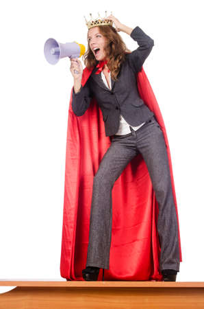 Businesswoman in superwoman concept Stock Photo - 15545558