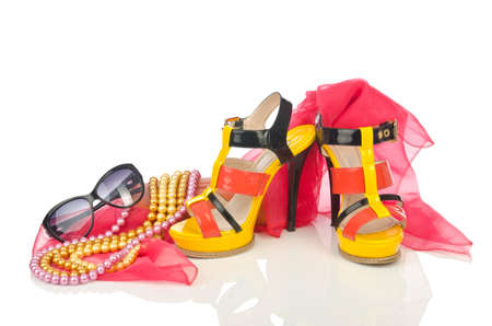Shoes and other woman accessories photo