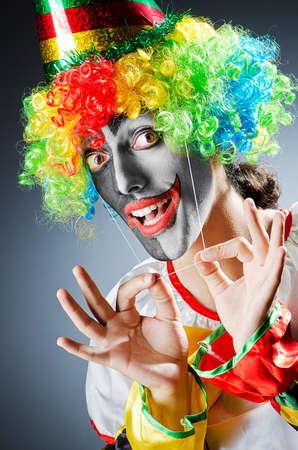 Funny clown photo