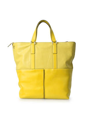 Elegant woman bag isolated on white Stock Photo - 15974025