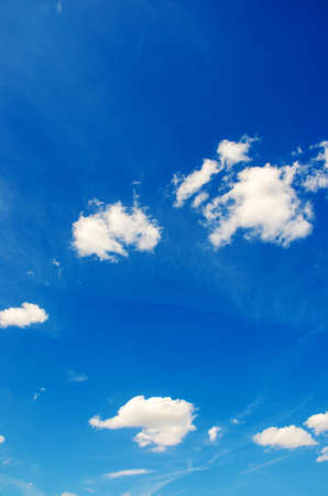 Bright blue sky in summer day Stock Photo - 16100508