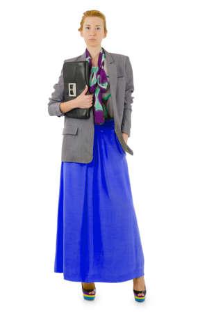 Attractive model in fashion concept Stock Photo - 16064434