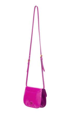 Elegant woman bag isolated on white Stock Photo - 15955556