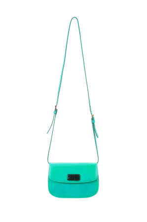 Elegant woman bag isolated on white Stock Photo - 15955555
