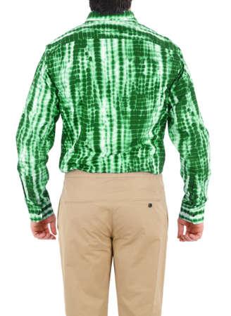 Male shirt isolated on white Stock Photo - 16054606