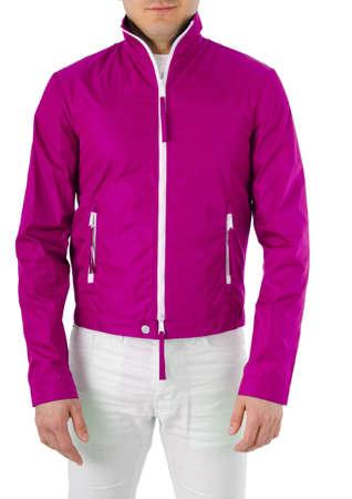 Stylish jacket isolated on model Stock Photo - 16125284