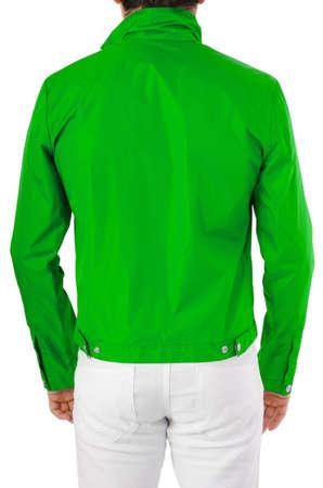 Stylish jacket isolated on model Stock Photo - 16125083