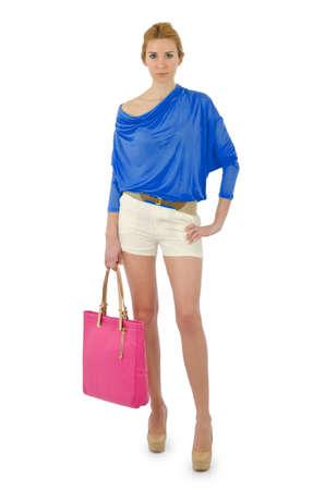 Attractive model in fashion concept Stock Photo - 16282112