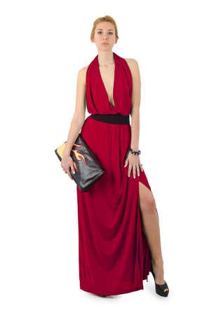 Attractive model in fashion concept Stock Photo - 16283004
