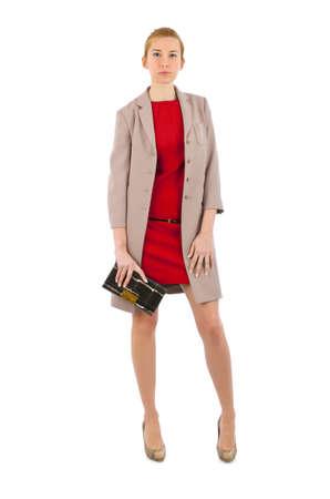 Attractive model in fashion concept Stock Photo - 16283218