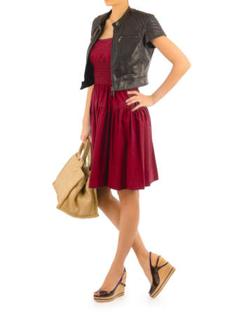 Attractive model in fashion concept Stock Photo - 16282083