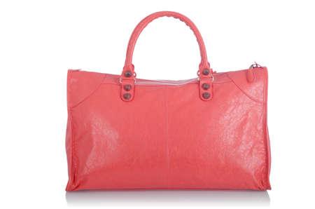 Elegant woman bag isolated on white Stock Photo - 16373736
