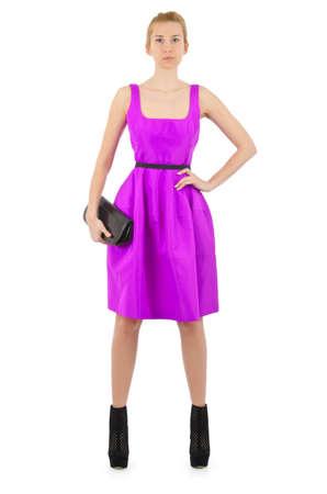 Attractive model in fashion concept Stock Photo - 16491579