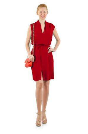 Attractive model in fashion concept Stock Photo - 16491573