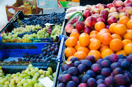 Fruits at the market stall Stock Photo - 16416077