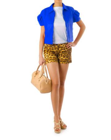 Attractive model in fashion concept Stock Photo - 16414967