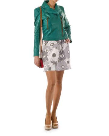 Attractive model in fashion concept Stock Photo - 16414968