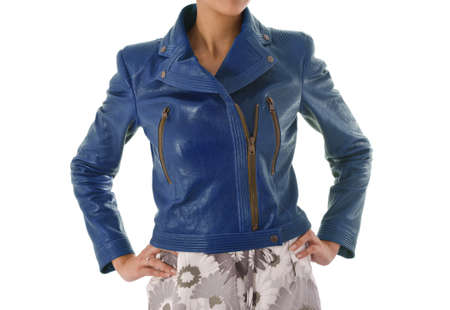 Stylish jacket isolated on model Stock Photo - 16415601