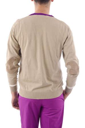 Stylish jacket isolated on model Stock Photo - 16415728