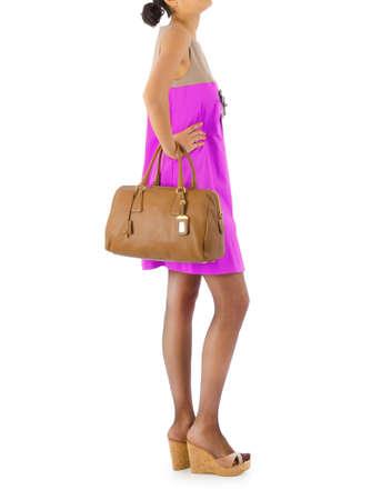 Attractive model in fashion concept Stock Photo - 16414933
