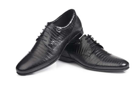 Male shoes isolated on the white Stock Photo - 16415527