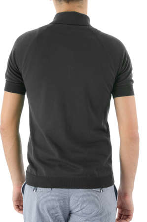 Male shirt isolated on white Stock Photo - 16416066