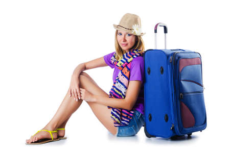 Girl ready for summer vacation Stock Photo - 16754594