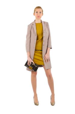 Attractive model in fashion concept Stock Photo - 16754323