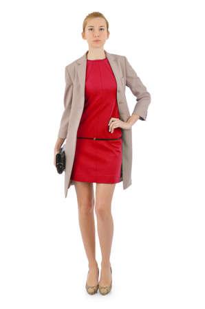 Attractive model in fashion concept Stock Photo - 16754424