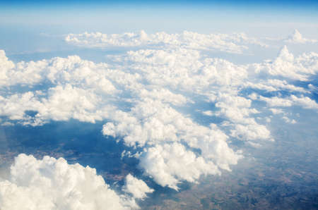 Clouds taken from the airplance Stock Photo - 16716244