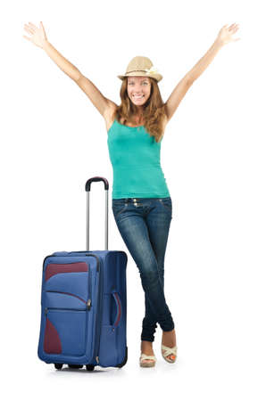 Young woman ready for summer vacation Stock Photo - 16748860