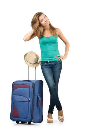 Young woman ready for summer vacation Stock Photo - 16748931