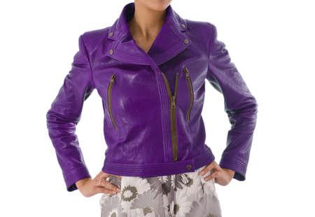 Stylish jacket isolated on model Stock Photo - 16723297