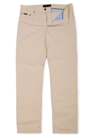 Fashion concept with trousers on white Stock Photo - 16821806