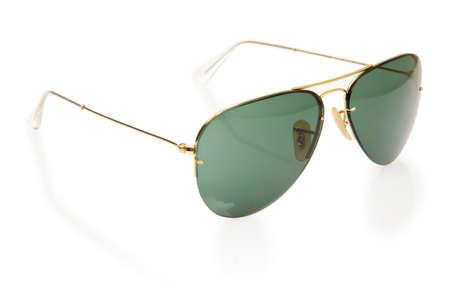 Elegant sunglasses isolated on the white Stock Photo - 16821590