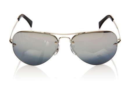Elegant sunglasses isolated on the white Stock Photo - 16821630