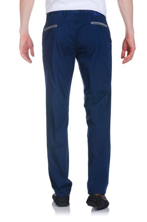Fashion concept with trousers on white Stock Photo - 16821847