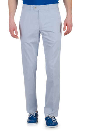 Fashion concept with trousers on white Stock Photo - 16821406