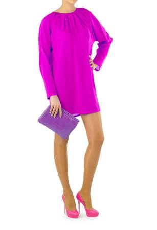 Attractive model in fashion concept Stock Photo - 16821617