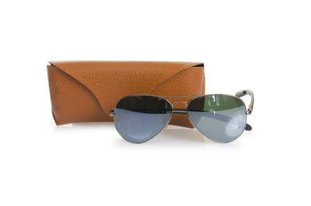 Elegant sunglasses isolated on the white Stock Photo - 16832554