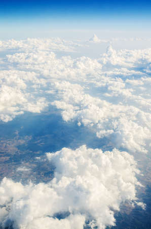 Clouds taken from the airplance Stock Photo - 16835066